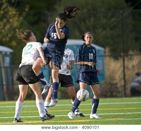 Girls Hs Varsity Soccer Game