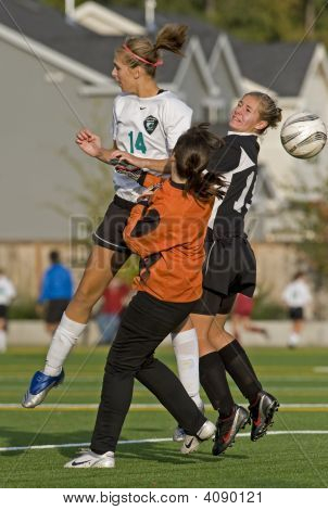 Girls Hs Varsity Soccer Blocking