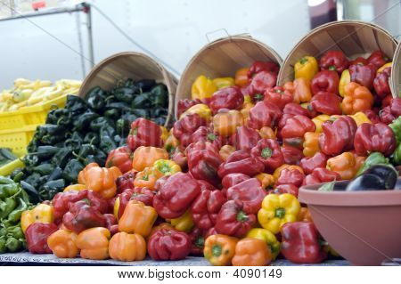 Farmers Market Bell Peppers