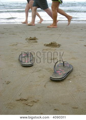My Flip-Flop And The Swimmers