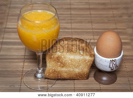 Orange Juice Toast