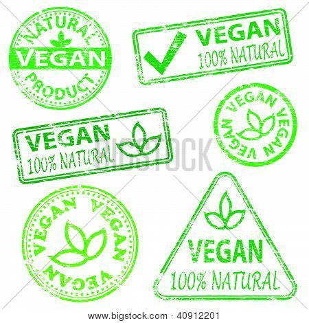 Vegan Stamps