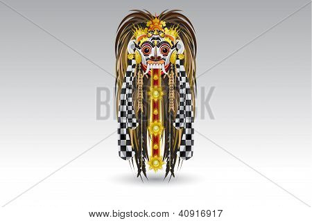 Rangda Leak Traditional Bali Demon Mask