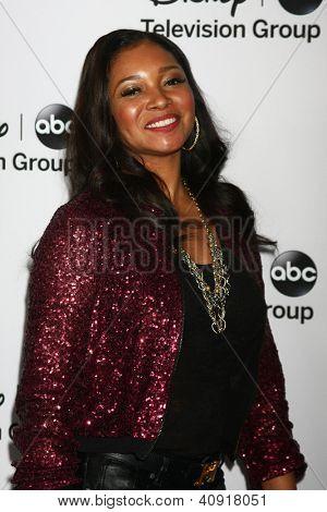 LOS ANGELES - JAN 10:  Tamala Jones attends the ABC TCA Winter 2013 Party at Langham Huntington Hotel on January 10, 2013 in Pasadena, CA