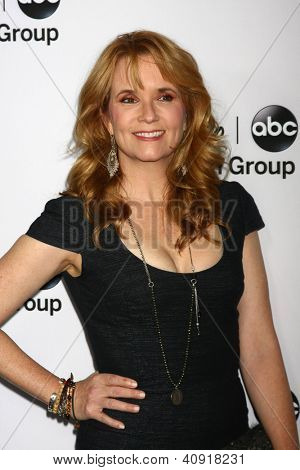 LOS ANGELES - JAN 10:  Lea Thompson attends the ABC TCA Winter 2013 Party at Langham Huntington Hotel on January 10, 2013 in Pasadena, CA