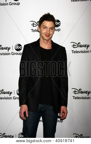 LOS ANGELES - JAN 10:  Erik Stocklin attends the ABC TCA Winter 2013 Party at Langham Huntington Hotel on January 10, 2013 in Pasadena, CA