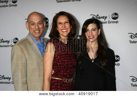 LOS ANGELES - JAN 10:  'Mistresses' Executive Producers attends the ABC TCA Winter 2013 Party at Langham Huntington Hotel on January 10, 2013 in Pasadena, CA