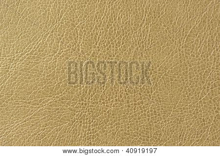 Brownish Green Artificial Leather Background Texture