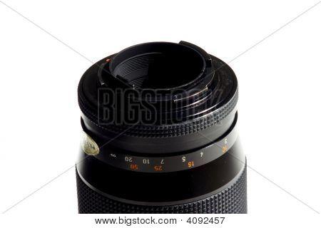 A Close Up Of Camera Lens