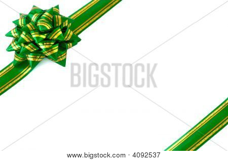 Gift Wrap Bow Green