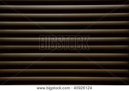 Silhouette Of Toilet Windows Lamellas