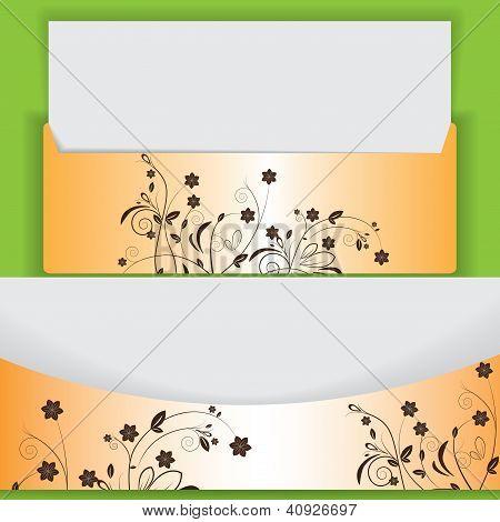 Creative Floral Design Lettes