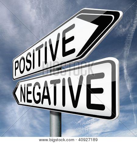 pensamiento positivo o pensar negativa positividad o negatividad está en la mente optimista o pessim