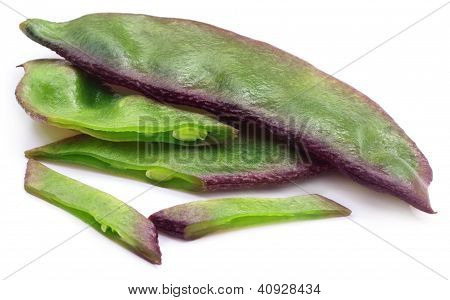Fresh hyacinth bean or Indian bean