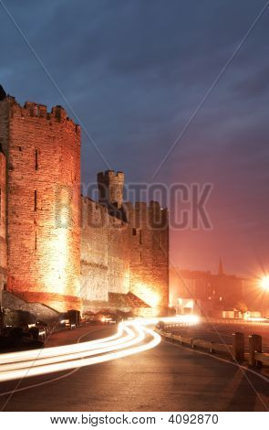 Castle Caernarfon Streetview