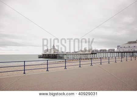 Jetty in Eastbourne, United Kingdom