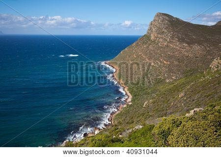 Shoreline Near Cape Point, South Africa
