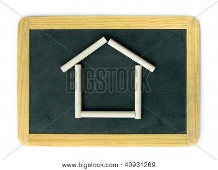 Blackboard Home Concept
