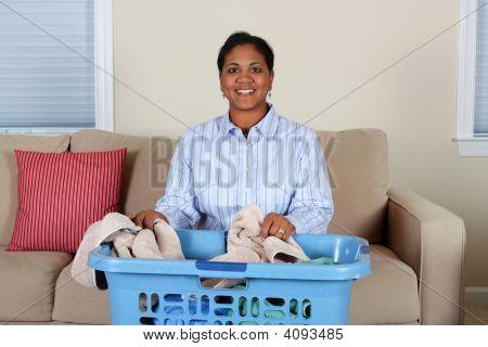 Frau Wäsche