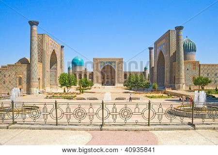 Ancient Muslim Architectural Complex Registan