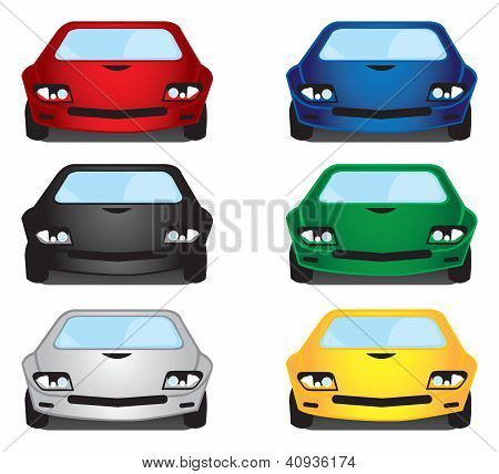 Vector Illustration Cars