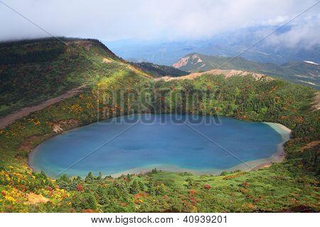 Autumn Blue Pond