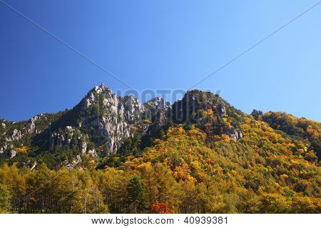 Autumn Crag Mountain