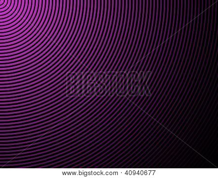 Concentric Rings, Circles - Abstract Background In Purple And Black
