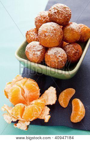 Dessert With Tangerine