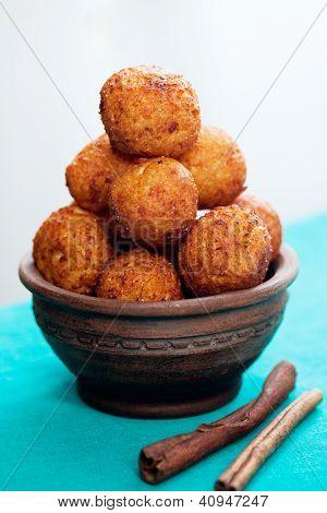 Pile Cheese Balls