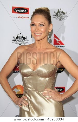 LOS ANGELES - JAN 12: Kym Johnson at the 2013 G'Day USA Los Angeles Black Tie Gala at JW Marriott on January 12, 2013 in Los Angeles, California