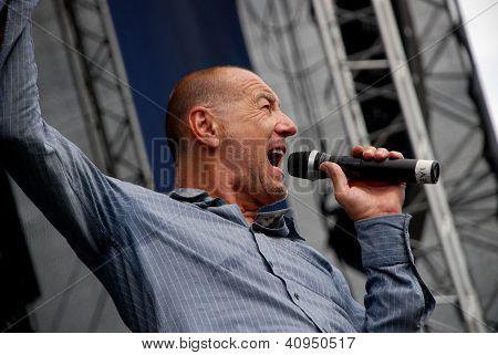Austrian Singer Willi Resetarits Performs In Linz
