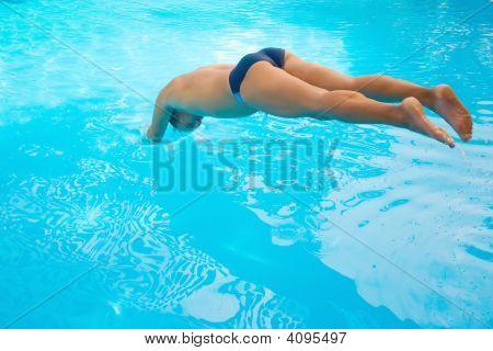 Men Diving
