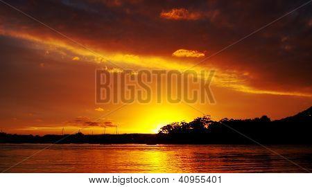 Orange Blaze - Sunset.