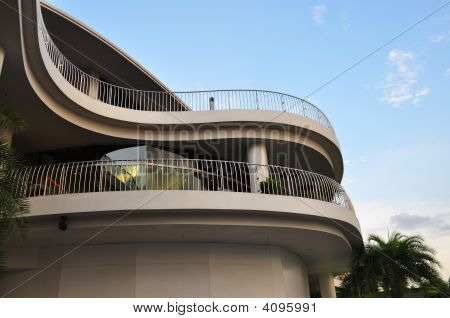 Steel Railings On Multiple Levels