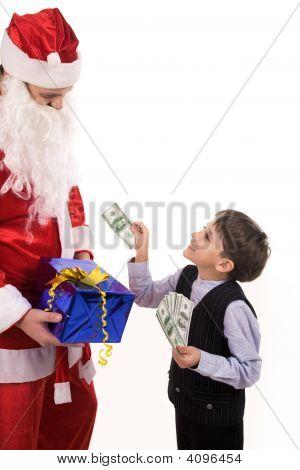 Paying To Santa