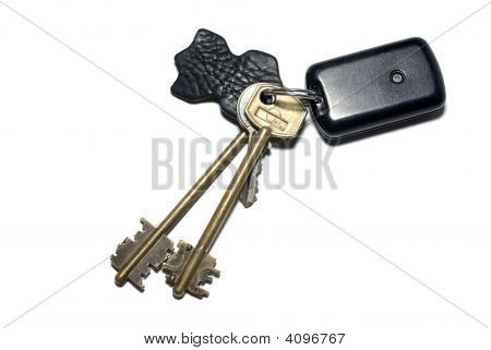 Keys With Breloque