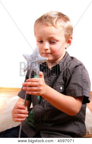 Boy With Magic Wand