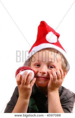 Young Boy @ Christmas Time
