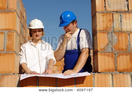 Discussing Building Plans