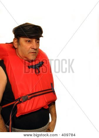 Man In Lifevest Right