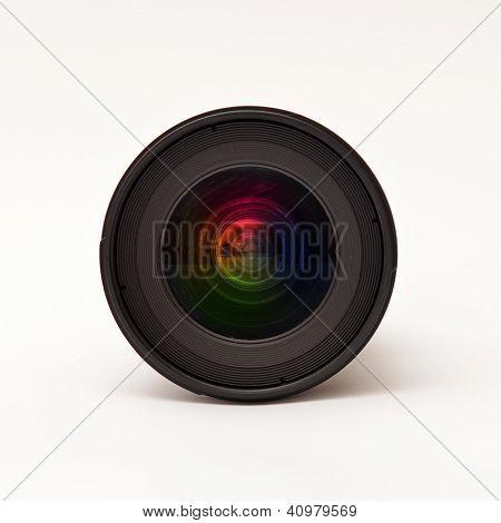 Lente de la cámara réflex digital