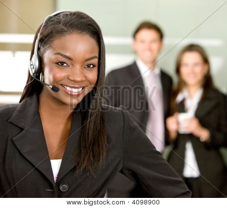 Customer Services Woman