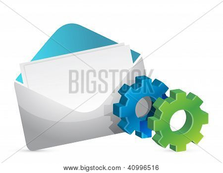 Envelope And Color Gears