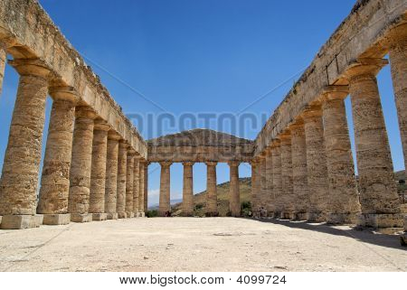 Segesta Greek Temple