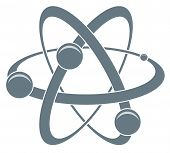 Vector  Icon Of Atom