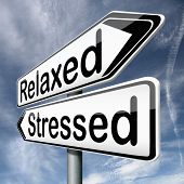 stock photo of positive negative  - stress therapy and management helps in relaxation reduce tension and relief negativity become relaxed not stressed reduction of negative vibes destressing trough meditation and concentration - JPG