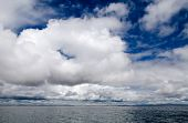 Cloudscape Over Lake Titicaca, Peru