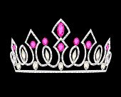 stock photo of crown jewels  - illustration tiara crown women - JPG