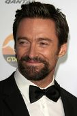 LOS ANGELES - JAN 12:  Hugh Jackman arrives at the 2013 G'Day USA Los Angeles Black Tie Gala at JW M